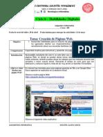 Taler 6_ciclo 6_ Diseño y Elaboración de Páginas Web