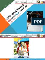 ORIENTACIONES LIBRO BICENTENARIO 200 AÑOS 200 ESCUELAS