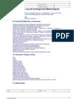 01 protocolo en caso de contingencias meteorolgicas