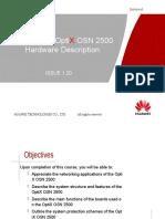 OTA105102 OptiX OSN 2500 Hardware Description ISSUE 1.20