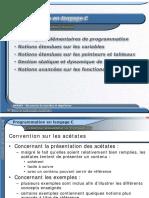 Programmation Langage C