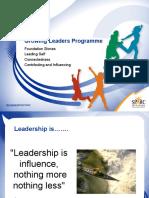 Growing Leaders Facilitators Workshop