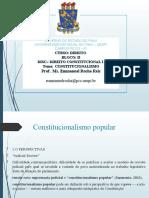 AULA Constitucionalismo UESPI 2020 1