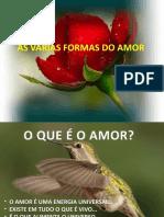 AS VÁRIAS FORMAS DO AMOR