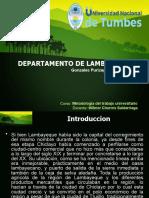 Lambayeque - Peru (Presentacion).