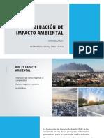 Introducción a La Evaluación de Impacto Ambiental