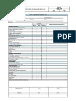 HSE-F-007 Inspección de Unidades Móviles v2 270614