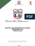 Bases Festival Zuloaguense de La Danza Tradicional 2011