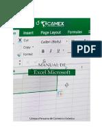 Manual de Camex de Excel Microsoft