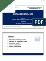 Sesion4_diseño de Vertedero Lateral Ucv2021