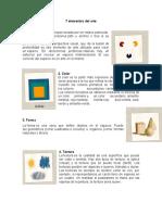 7 elementos del arte