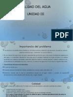Calidad del agua y parámetros2020