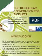 GENERADOR DE ENERGIA CON BICICLETA