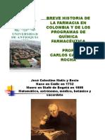 Historia Farmacia Colombia