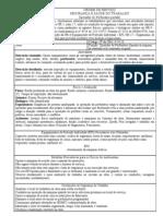 OS operador perfuratriz  formulário 11