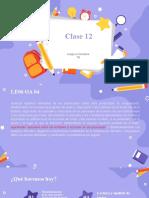 clase 12 septimo