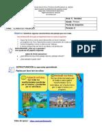 GUIA DE TRABAJO DE LA SEMANA N° 1 PERIODO 2 CLASES DE PAISAJES   C.SOCIALES GRADO 1°