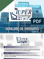 Catalogo Licuadoras Super