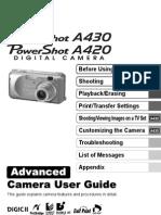 A430-A420_ADVCUG_EN CANON MANUAL