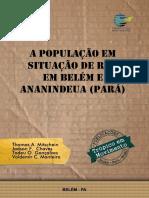 População em situação de rua em Belém e Ananindeua