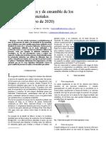 Trabajo procesos de unión y ensamble en IEEE