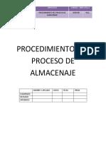 PROCEDIMIENTO DEL PROCESO DE ALMACENAJE (1)