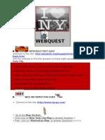 WEBQUESTNEWYORKCITYN°1