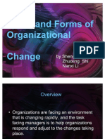 Types and Forms of Organizaitonal Change.2ppt