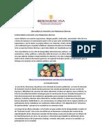 Inclusión y las Poblaciones diversas