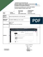 Form Laporan PJJ TRPK SMT IV PERTEMUAN KE- 16