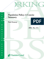 population policy
