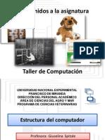 Unidad 1 Estructura del computador (Hardware y software)
