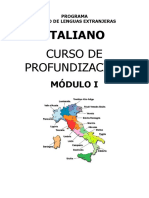 Modulo italiano profundización
