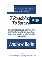 7 Roadblocks to Success