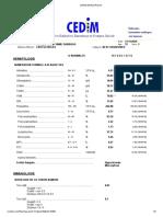 CEDIM Medical Report