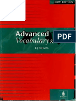 Advanced Vocabulary and Idioms BJ THOMAS