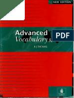 Advanced Vocabulary and Idioms BJ THOMAS