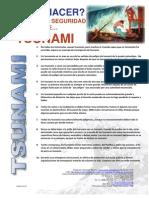 Reglas de Seguridad en Caso de Tsunami
