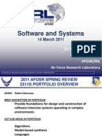4. Bonneau - Software and  Systems