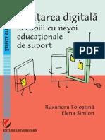 Invatarea Digitala La Copiii Cu Nevoi Ed