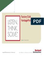 FactoryTalk VantagePoint EMI Reference Architectures