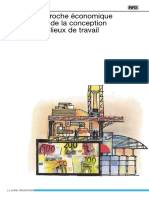 ED847-Conception Des Lieux de Travail-Aspects Economique