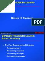 AMS - Branson - Basics of Cleaning - Aqueous