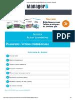 Action Commerciale Et Exemples de Plan d'Action Commercial, l'Essentiel
