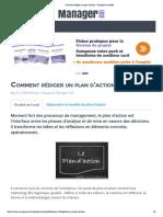 Comment rédiger un plan d'action _ Conseils et modèle - Page 1