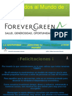 FOREVERGREEN POWERPOINT PRESENTATION WIN VERSION