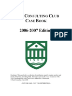 2006-2007 Dartmouth Tuck CC Case Book