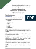 Legislación Educativa Ecuatoriana - Evaluación a distancia