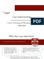 2010-2011 Chicago Booth Case Interviewing