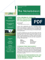 Nickelodeon Newsletter 2006-10-24 - Season Finale